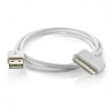Асс. Кабель Apple Dock Connector (White) (1m) (MA591G)