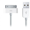 Асс. Кабель Apple Dock Connector (White) (1m) (MA591/HC)