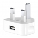 Асс. Сетевое ЗУ Apple USB Power Adapter (England) White (MB706)