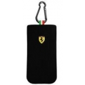 Acc. Чехол для iPhone 4/4S CG Ferrari F1 (Текстиль) (Черный) (FESOCKBL)