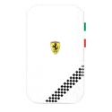 Acc. Чехол для iPhone 4/4S CG Ferrari F1 PU Leather Sleeve (Кожа) (Белый) (FEFOSLMW)