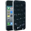 Acc. Защитная пленка для iPhone 4/4S 3D Icover Honey Comb Pattern Pearl (IP4-SP-HN)