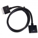 Асс. Кабель Apple Dock Extension (Black) (1m)