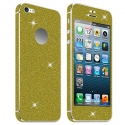 Acc. Защитная пленка для iPhone SE/5S Diamond Connex Glitter Skin Gold