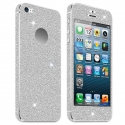 Acc. Защитная пленка для iPhone SE/5S Diamond Connex Glitter Skin Silver