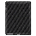 Acc. Защитная пленка для iPad 2/3/4 Clear Connex Carbon Fiber Skin Black