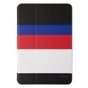 Acc. Чехол-книжка для iPad mini 1/2/3 Uniq March Captain Snazzy (Кожа) (Черный/Белый)