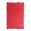 Acc. Чехол-книжка для iPad mini 1/2/3 Uniq Intelli Jacket (Кожа) (Красный)