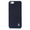 Acc. Чехол-накладка для iPhone SE/5S BMW Metallic Finish (Пластик) (Синий) (BMHCP5SN)