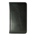 Acc. Чехол-книжка для iPhone SE/5S MYCASE Wallet (Black Vertical) (Кожа) (Черный)