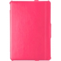 Acc. Чехол-книжка для iPad mini 1/2/3 Uniq Intelli Jacket (Кожа) (Малиновый)