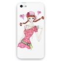 Acc. Чехол-накладка для iPhone SE/5S Colourhorse Print&Diamond (Пластик) (Изображение) (Swarovski el