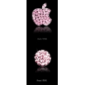 Acc. Наклейка для iDevice RoyalStone Home Logo Sticker Pink (на логотип и кнопку Home)