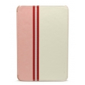 Acc. Чехол-книжка для iPad mini 1/2/3 Nextouch Bombstyle (Кожа) (Розовый/Белый) (IPADMINI-LEATHER-PW
