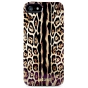 Acc. Чехол-накладка для iPhone SE/5S Just Cavalli Leopard (Replica) (Copy) (Поликарбонат/Силикон) (Ч
