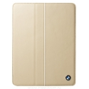 Acc. Чехол-книжка для iPad mini 1/2/3 BMW Signature Folio (Кожа) (Бежевый) (BMFCMPLC)