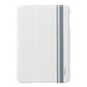 Acc. Чехол-книжка для iPad mini 1/2/3 Labato Double Stand (Кожа) (Белый) (LBT-IM2-03H00-WHITE)