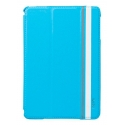 Acc. Чехол-книжка для iPad mini 1/2/3 Labato Double Stand (Кожа) (Голубой) (LBT-IM2-03H40-BLUE)