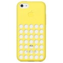 Acc. �����-�������� ��� iPhone 5C Creative CASE Colorfully Apple Logo TPU (�������) (������)