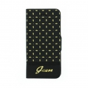 Acc. Чехол-книжка для iPhone SE/5S Guess Gianina (Кожа) (Черный) (GUFLBKP5PEB)
