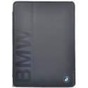 Acc. Чехол-книжка для iPad Air BMW Debossed Logo Folio (Кожа) (Черный) (BMFCD5LOB)