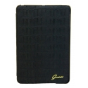 Acc. Чехол-книжка для iPad Air Guess Croco Matte (Кожа) (Черный) (GUFCD5CMBL)
