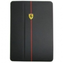 Acc. Чехол-книжка для iPad mini 1/2/3 CG Ferrari F1 (Кожа) (Черный) (FEFORFCPM2BL)