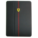 Acc. Чехол-книжка для iPad Air CG Ferrari F1 (Кожа) (Черный)