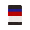Acc. Чехол-книжка для iPad Air Uniq March Captain Snazzy (Кожа) (Черный/Белый)