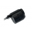 Асс. Сетевое ЗУ CellularLine World Travel Adapter Black (WTA)