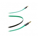 Асс. Кабель CellularLine Aux Locusta Cable (Green) (1m) 1,0m (APLOCUSTA4)