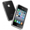 Acc. Чехол-накладка для iPhone 4/4S CellularLine Invisible (Пластик) (Прозрачный) (INVISIBLECIPHONE4
