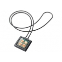 Acc. Чехол для iPod nano 6Gen CellularLine MP3 Zone Strap (Силикон) (Черный) (MP3STRAPNANO6BK)