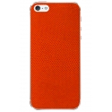 Acc. Защитная пленка для iPhone SE/5S Patchworks Genuine Leather Lizard Orange (1114)