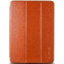 Acc. Чехол-книжка для iPad Air Verus Premium K Dandy Leather Case (Кожа) (Светло-коричневый)