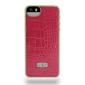 Acc. �����-�������� ��� iPhone SE/5S Eclat Croco Red (����) (�������) (ECLSN504)