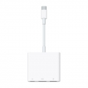 Асс. Переходник-адаптер Apple USB-C Digital AV Multiport Adapter (White) (0,15m) (MJ1K2ZM/A)