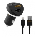 Acc. Автомобильное ЗУ Unplug Lightning Car Charger 2.1A Black