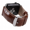 Ремешок Melkco Crocodile Strap 38mm Brown (APIW38LSST1BNCR)