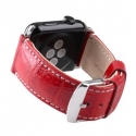 Ремешок Melkco Crocodile Strap 38mm Red (APIW38LSST1RDCR)