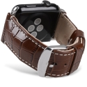 Ремешок Melkco Crocodile Strap 42mm Brown (APIW42LSST1BNCR)