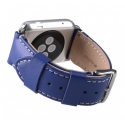Ремешок Melkco Leather Strap 38mm Blue (APIW38LSST1BEIT)