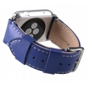 Ремешок Melkco Leather Strap 42/44mm Blue (APIW42LSST1BEIT)