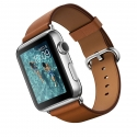 Часы Apple Watch 42mm Stainless Steel Brown Classic Buckle (MMFT2)