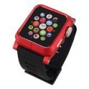 Ремінець LunaTik Epik Polycarbonate 38mm Black/Red (HC)
