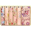 Acc. �����-�������� ��� iPhone 6/6S Dita Floweriness (�������) (����������/�������) (Florid)