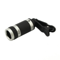 Объектив для iPhone/iPad Apexel 8x Zoom Lens (Черный) (CL-83B)