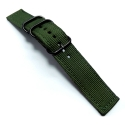Ремешок TGM Black Buckle 42/44mm Green