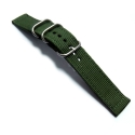 Ремешок TGM Silver Buckle 42/44mm Green