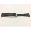 Ремешок Tag Heuer Fold Buckle 42mm Black (QB0045)